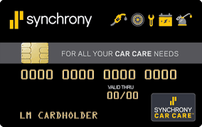 Synchrony Bank Auto Repair Financing